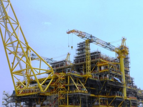 Fabrication of KBB Topsides
